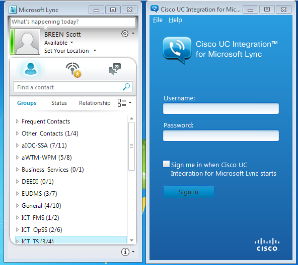 CUCILync 9.2 Released (Cisco Unified Communications Integration for ...